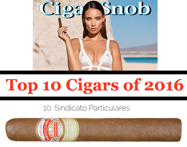 Particulares - Cigar Snob's 10th Best Cigar of 2016