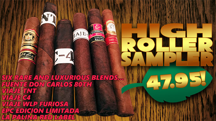 High Roller Gargantuan Sampler