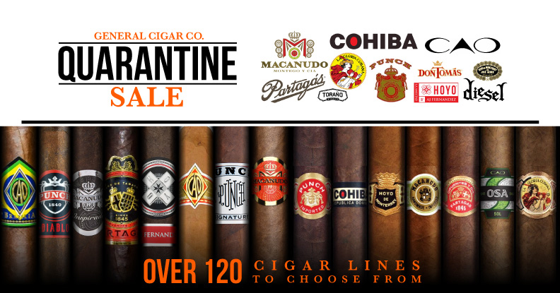 General Cigar Quarantine Sale