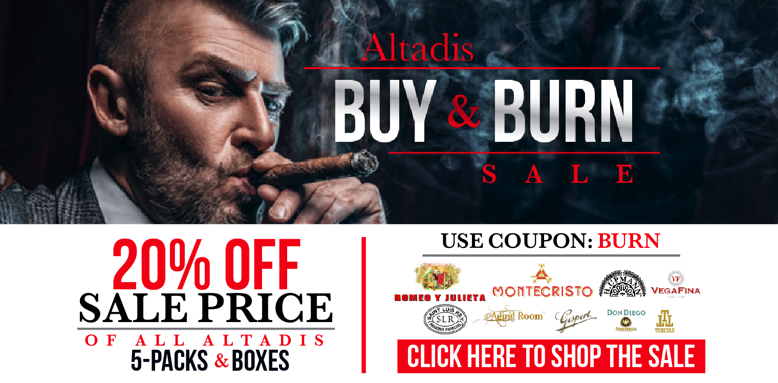 Altadis Buy & Burn Sale